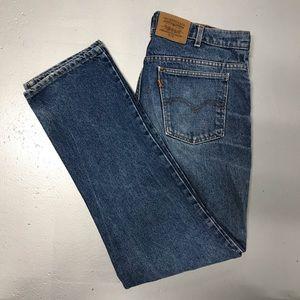 Vintage Levi's 619 Straight Leg Jeans 36x32 Denim